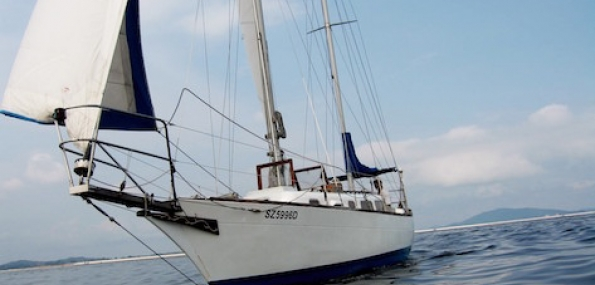 Sailing Half Day on 2 Mastered Ketch around waters of Singapore