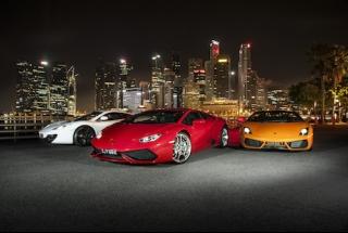 Drive a Ferrari - F1 Track to Freeway (30min)