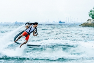 Jetlev Water Propelled Jetpack 15 mins