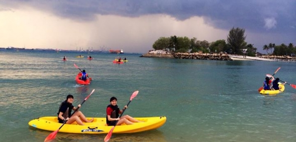 Sentosa Kayaking (2 persons, 1 hour)