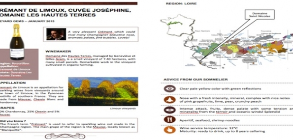 3 month Vineyard Gems Wine Subscription from the French Cellar