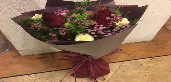 Flower Arrangement - Small (Gift Wrapped & Delivered) - New May 2017