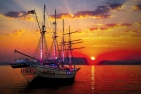 Sunset Sail onboard The Royal Albatross + Dinner (2 Adults) + Special Discount - New Oct 2017