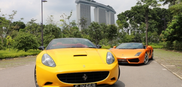 Drive a Supercar for the Ultimate Freeway Tour (45 mins)