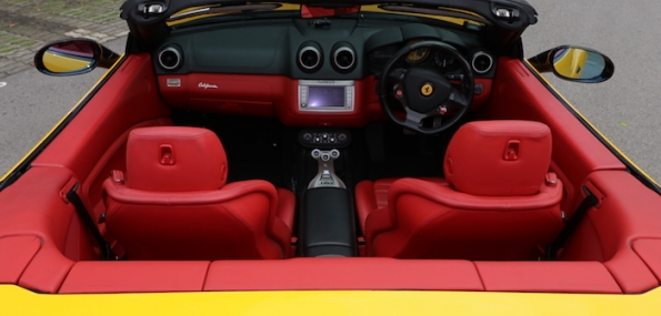 Experience a Ferrari California Supercar around the F1 Track as a Spectator (15 mins) - New Nov 2017