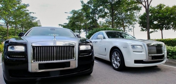Rolls Royce Ghost Limousine Service - 1 Way Transfer - New Experience Nov 2017