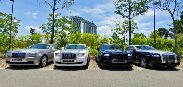 Rolls Royce Ghost Limousine Service - 1 Way Transfer