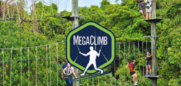 Adventure Package - MegaZip + MegaClimb - New & Enhanced online prices Dec 2017