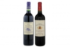 Bordeaux Red Wine Duo with Premium Packaging, Corkscrew gift & includes delivery - New Jan 2018