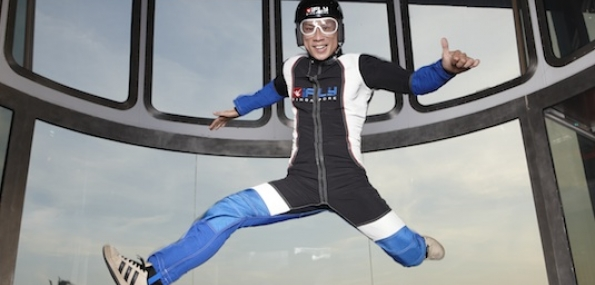 Indoor Skydiving at iFly Singapore - 1 Person / Off Peak Time